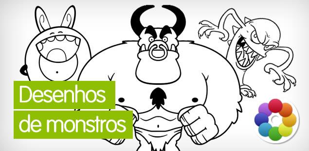 Desenhos de monstros